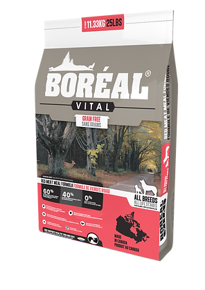 BORÉAL VITAL RED MEAT MEAL - GRAIN FREE (11.33kg)