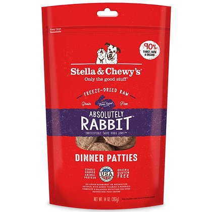 Stella & Chewy's Absolutely Rabbit Dinner Patties ( 14 oz )