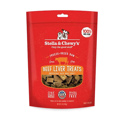 Stella & Chewy's Single Ingredient Beef Liver Treats (3oz)