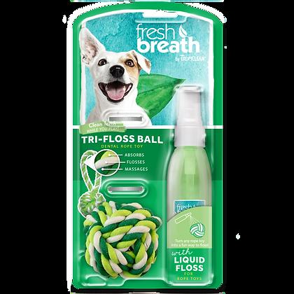 Tropiclean Liquidfloss & Triflossball ( 4 fl. oz )