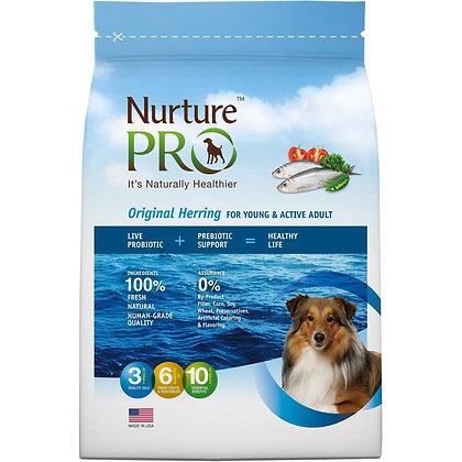 Nurture Pro Original Herring Young & Active Adult Dry Food ( 4lb/ 12.5lb/ 26lb )