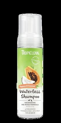 Tropiclean Papaya & Coconut Waterless Pet Shampoo (220ml)