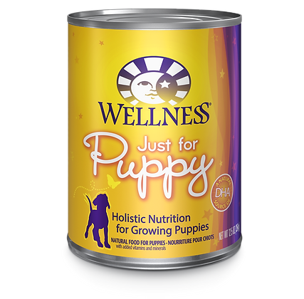 Wellness Just For Puppy canned ( 12.5oz )