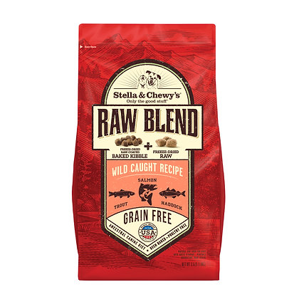 Stella & Chewy's Raw Blend Wild Caught Recipe ( 3.5lb / 22lb )