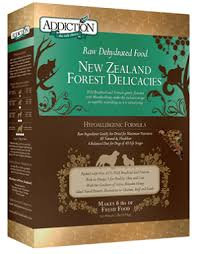 Addiction Dog Dehydrated New Zealand Forest Delicacies ( 2lb / 8lb )