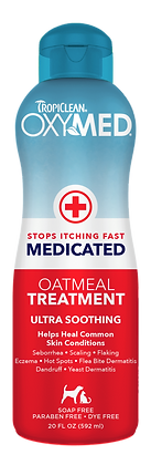 TropiClean OxyMed Medicated Treatment Rinse (592ml)