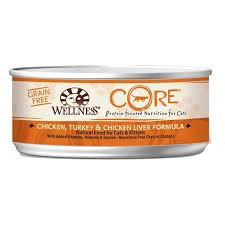 Wellness Core Chicken, Turkey, Chicken Liver Formula ( 5.5oz )