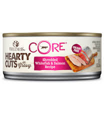 Wellness Core Hearty Cuts Shredded Whitefish & Salmon canned ( 5.5oz )