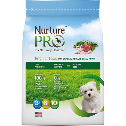 Nurture Pro Original Lamb For Small & Medium Puppy Dry Food( 4lb/12.5lb/26lb )