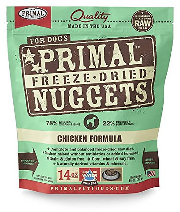 Primal DOGS Freeze-Dried Chicken Formula ( 14oz X 4packets )