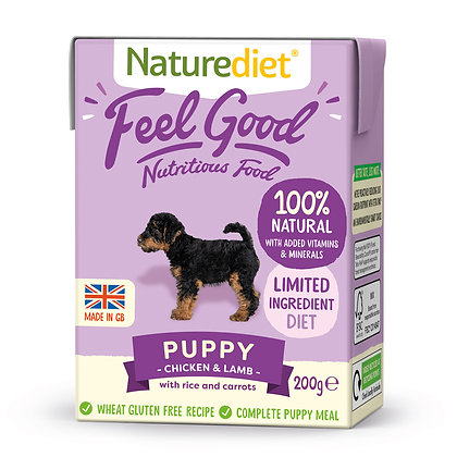 Naturediet Feel Good Dog Food Puppy ( 200g/ 390g )