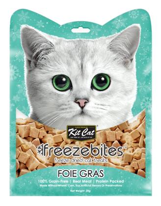 Kit Cat Freeze Bites Foie Gras Freeze Dried Cat Treats 15g