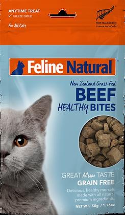 Feline Natural Beef Healthy Bites (50g)