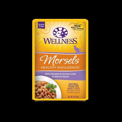 Wellness Healthy Indulgence Grain Free Chicken & Chicken Liver Wet Food (3oz)
