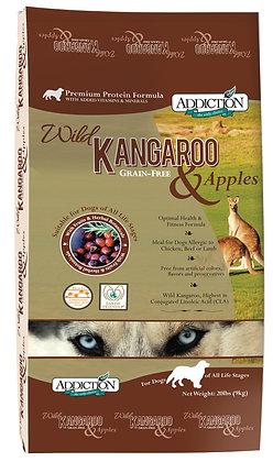 Addiction Dog Grain-Free Wild Kangaroo and Apples ( 4lb / 20lb )