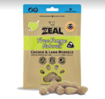 Zeal Freeze Dried Chicken & Lamb Morsels (100g)