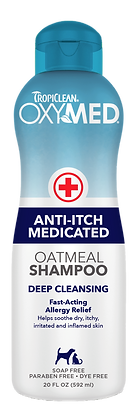 TropiClean OxyMed Anti-Itch Shampoo (592ml)