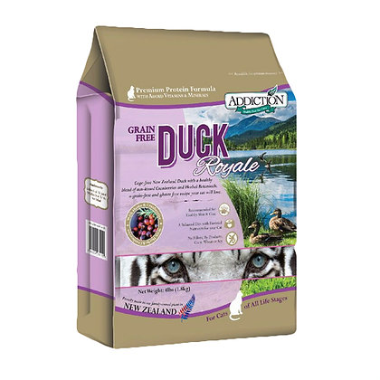 Addiction Cat Duck Royal ( 4lb )