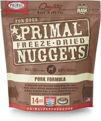 Primal DOGS Freeze-Dried Pork Formula ( 14oz X 2packets )