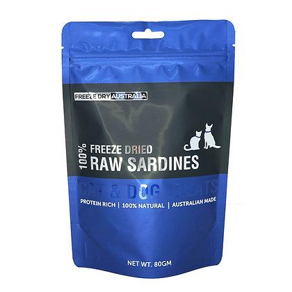 Freeze Dry Australia Raw Sardines (80g)