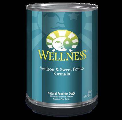 Wellness Venison & Sweet Potato canned ( 12.5oz )