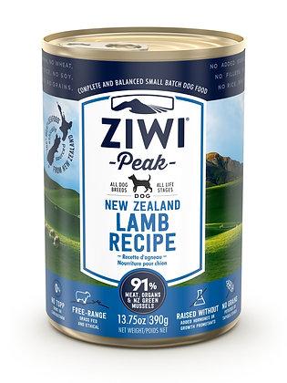 Ziwi Peak Lamb Canned Dog Food ( 390g )