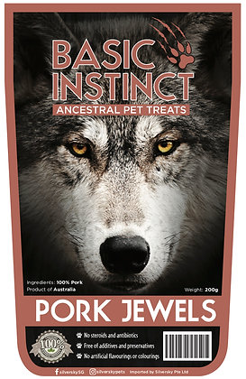 Basic Instinct Pork Jewels (200g)