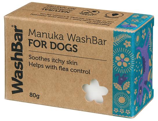 WashBar Manuka Washbar for Dogs ( 80g )