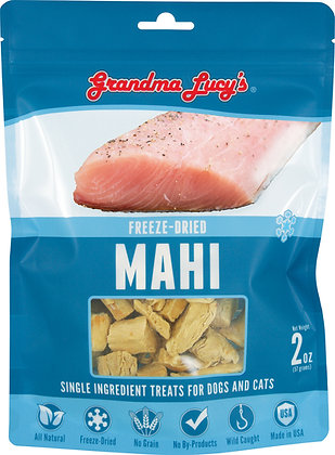 Grandma Lucy's Mahi Freeze Dried Single Ingredient Treats (2oz)