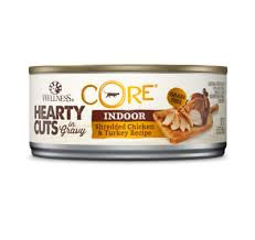 Wellness Core Hearty Cuts Shredded Indoor Chicken & Turkey canned ( 5.5oz )
