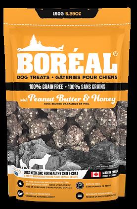 BORÉAL PEANUT BUTTER AND HONEY DOG TREATS (150g)