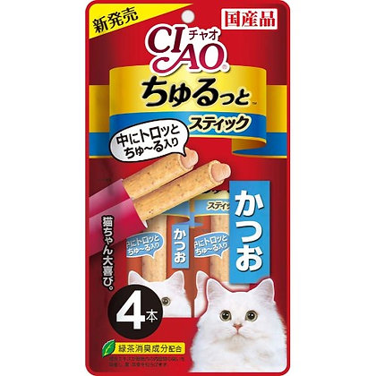 Ciao Churutto Tuna Katsuo Treat