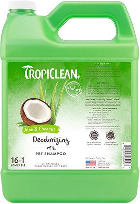 Tropiclean Aloe & Coconut Pet Shampoo ( 1 Gallon )
