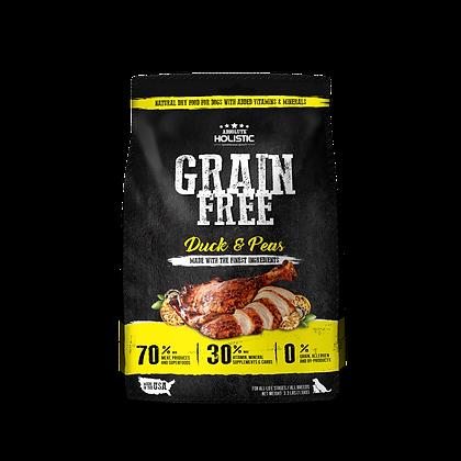 Absolute Holistic Grain Free Duck & Peas Dry Food ( 3.3lbs / 22lbs )