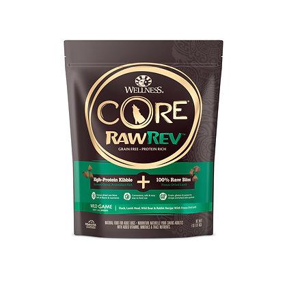 Wellness Core RawRev Wild Game + 100% Raw Lamb ( 4lb / 10lb/ 20lb )