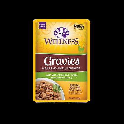 Wellness Healthy Indulgence Grain Free Chicken & Turkey Wet Food (3oz)