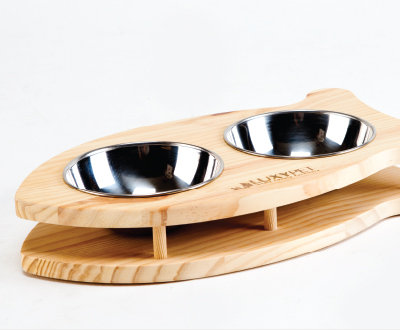 LuxyPet Dish Bowl ( Fish/Bone)