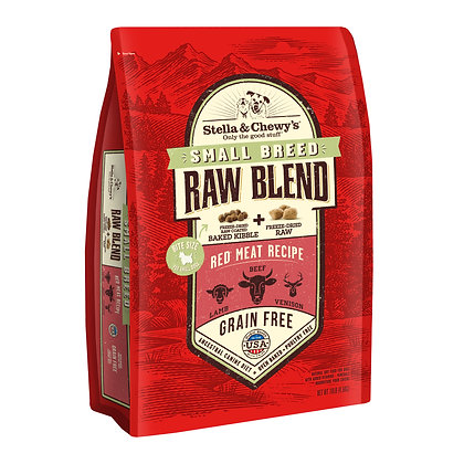 Stella & Chewy's Raw Blend Small Breed Red Meat Raw Blend Kibble (3.5lb)