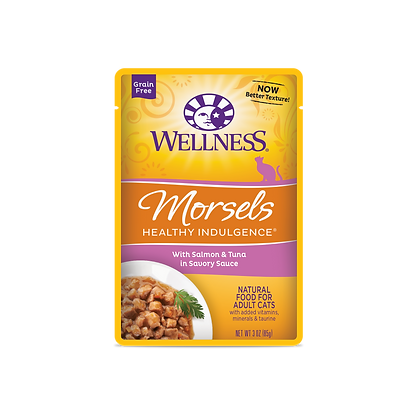 Wellness Healthy Indulgence Grain Free Salmon & Tuna Wet Food (3oz)