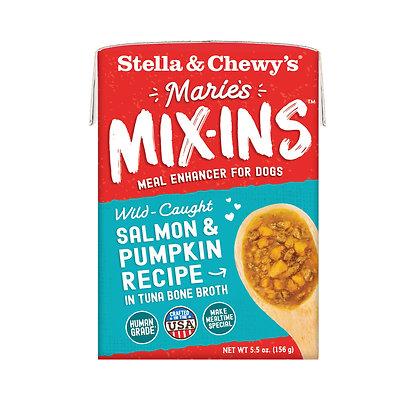 Stella & Chewy's Marie's Mix-Ins Salmon & Pumpkin Recipe (5.5oz)