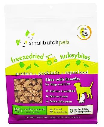 Smallbatch Freeze Dried Turkey Bites (7oz)