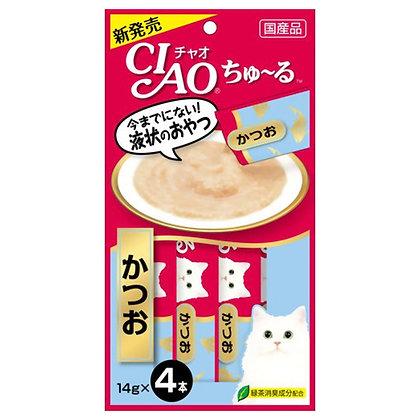 Ciao Churu Tuna Katsuo Liquid Cat Treats