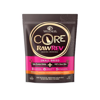 Wellness Core RawRev Small Breed + 100% Raw Turkey ( 4lb / 10lb )