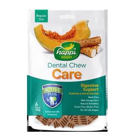 Happi Doggy Pumpkin & Mountain Yam Digestive Support Dental Chew ( 150g )