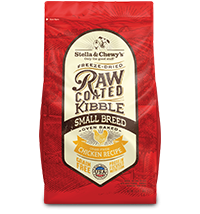Stella & Chewy's Raw Coated Kibble Small Breed Recipe ( 3.5lb )