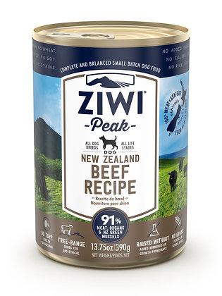 Ziwi Peak Beef Canned Dog Food ( 390g )