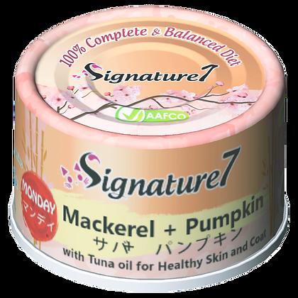 Signature7 MONDAY Mackerel & Pumpkin Wet Food (2.5oz)