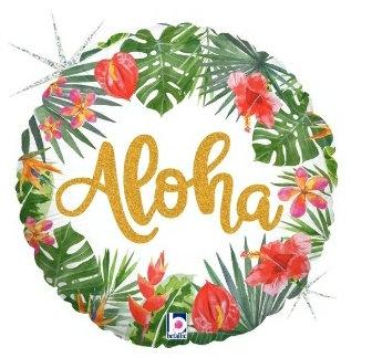 "Aloha 18"" mylar"