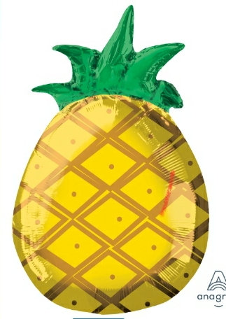 "Pineapple 18"" mylar balloon"