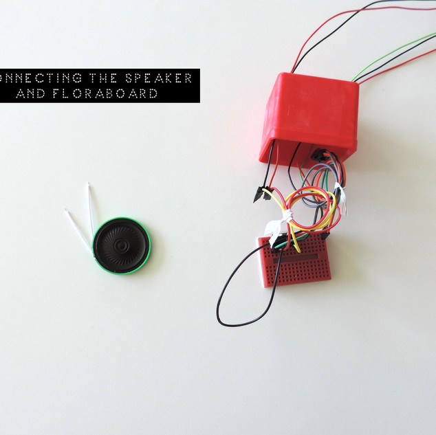 CONNECTING THE SPEAKER